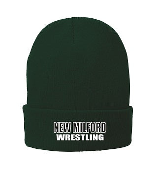 NM Wrestling Fleece Lined Cuff Beanie