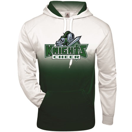 NM Knights Cheer Two-Tone Performance Hoodie