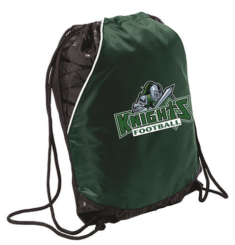 NM Knights Football Drawstring Bag