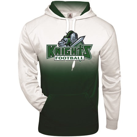 NM Knights Football Two-Tone Performance Hoodie
