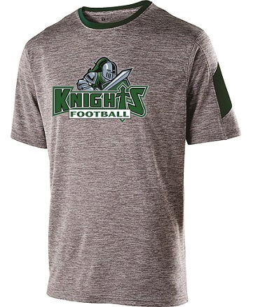 NM Knights Football Electron Performance Tee