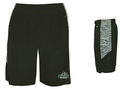 NM Knights Football Pocketed Shorts- Available BLACK or DARK GREEN