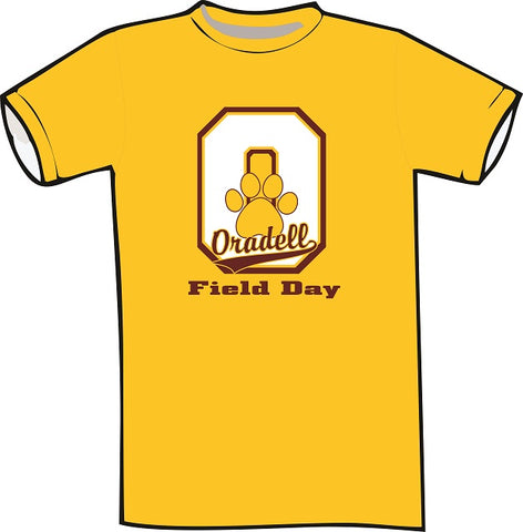 OPS Field Day Tee- GOLD