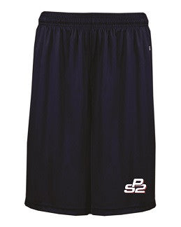 PS2 Baseball Pocketed Performance Shorts- NAVY