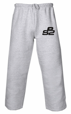 PS2 Baseball Pocketed Sweatpants- GREY