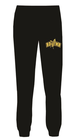 RD Marching Band Jogger Pants- BLACK- available MENS & LADIES