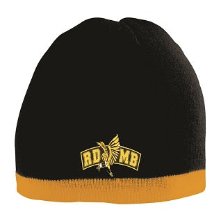 RD marching Band Striped Knit Beanie
