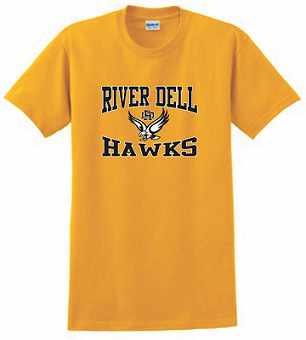 RD Hawks T-shirt GOLD