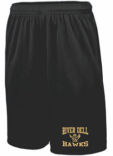 RD Hawks Pocketed Performance Shorts- BLACK