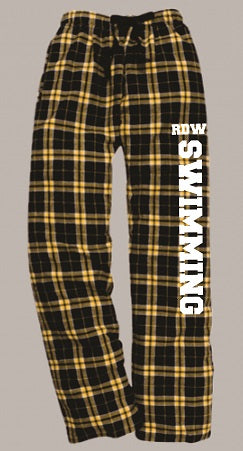 RDW Swimming Flannel Pants- Available in 2 Colors