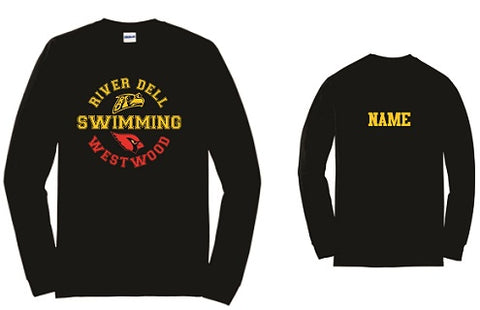 RDW Swimming Longsleeve Tee- Available in 3 Colors