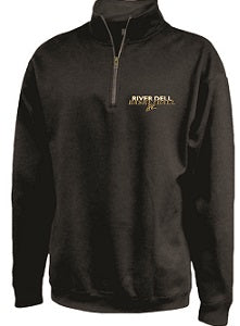 RD Basketball 1/4 Zip Sweatshirt- BLACK
