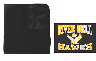 RD Hawks Poly/Fleece Blanket