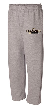 River Dell Soccer Sweatpants- GREY