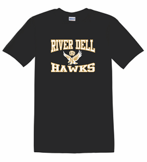 RD Hawks T-shirt BLACK
