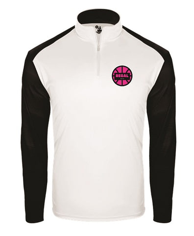 REGAL Basketball Lightweight 1/4 Zip- Available in 2 Colors