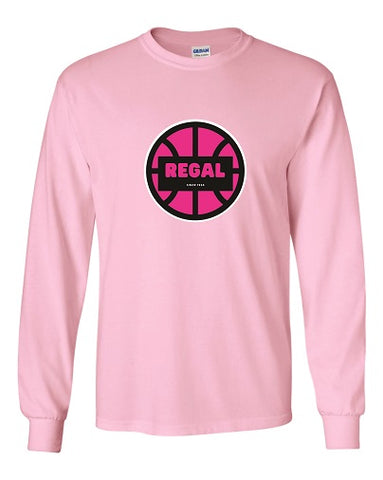 REGAL Basketball Longsleeve Tee- Available in 4 Colors
