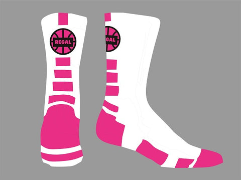 REGAL Basketball Crew Length Socks