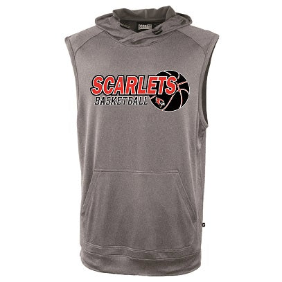 RP Scarlets Basketball Sleeveless Performance Hoodie