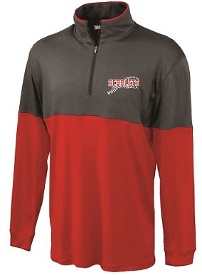 RP Scarlets Softball Edge Performance 1/4 Zip Pullover