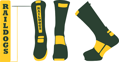 Raildogs Baseball Elite Socks