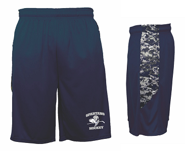 Paramus Hockey Digital Performance Shorts