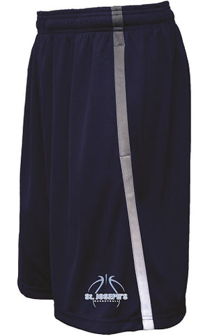 St. Joe's Basketball Avalanche Performance Shorts- NAVY