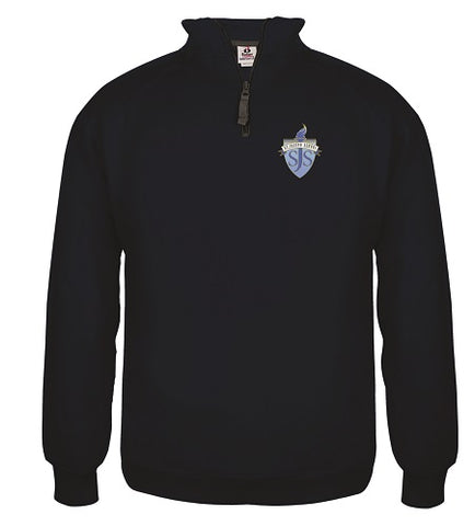 SJS 1/4 Zip Sweatshirt- NAVY or GREY