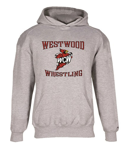 WCW Cotton Blend Hoodie- available in GREY and BLACK