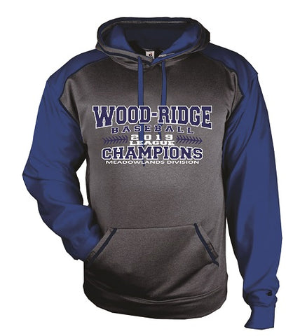 W-R Baseball 2019 League Champs Performance Hoodie