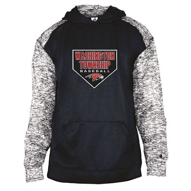 Falcons Baseball Blend Performance Hoodie- AVAILABLE IN 2 COLORS