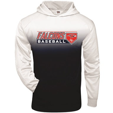 Falcons Baseball Two-Tone Performance Hoodie- Available in 2 Colors