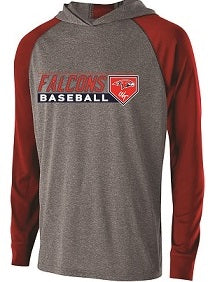 Falcons Baseball Echo Lightweight Hoodie- AVAILABLE IN 3 COLORS