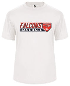 Falcons Baseball 2018 Performance Tee- AVAILABLE IN 3 COLORS