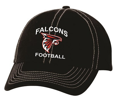 WT Falcons Football Cap- AVAILABLE IN 2 COLORS