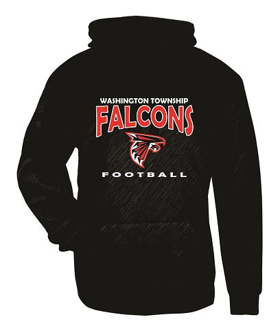 WT Falcons Football Performance Hoodie
