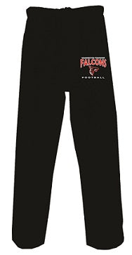 WT Falcons Football Pocketed Sweatpants- BLACK