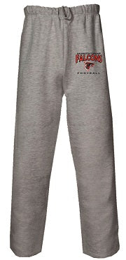 WT Falcons Football Pocketed Sweatpants- GREY