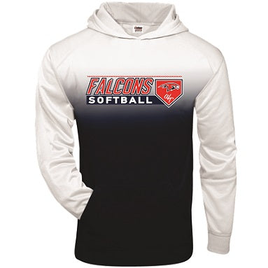 Falcons Softball Two-Tone Performance Hoodie- Available in 2 Colors