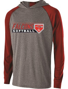 Falcons Softball Echo Lightweight Hoodie- AVAILABLE IN 3 COLORS