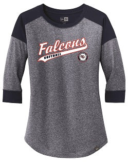 Falcons Softball Ladies 3/4 Sleeve Shirt