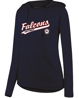 Falcons Softball Ladies Lightweight Performance Hoodie