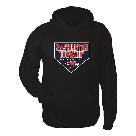 Falcons Softball Hoodie- NAVY BLUE