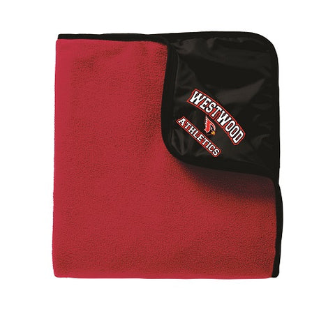 Westwood Athletics Poly/Fleece Blanket