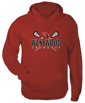 Westwood Lacrosse Cotton Blend Hoodie- AVAILABLE IN 3 COLORS