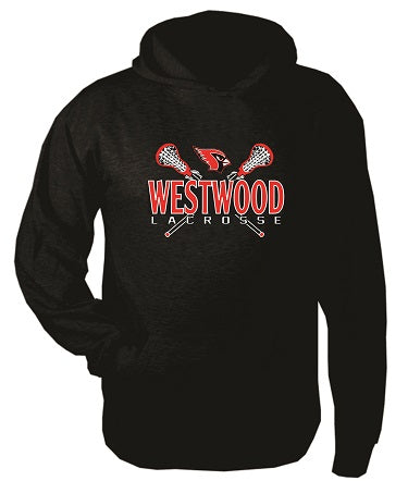Westwood Girls Lacrosse Cotton Blend Hoodie- AVAILABLE IN 2 COLORS