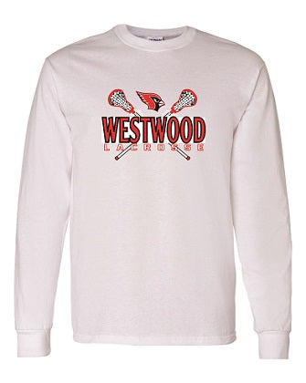 Westwood Lacrosse Longsleeve T-shirt- AVAILABLE IN 3 COLORS