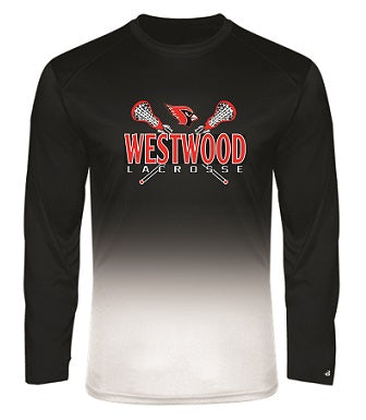 Westwood Lacrosse Two-Tone Performance Longsleeve Tee- AVAILABLE IN 2 COLORS