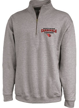 Westwood Girls Lacrosse 1/4 Zip Sweatshirt- AVAILABLE IN 2 COLORS