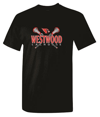 Westwood Girls Lacrosse T-shirt- AVAILABLE IN 2 COLORS